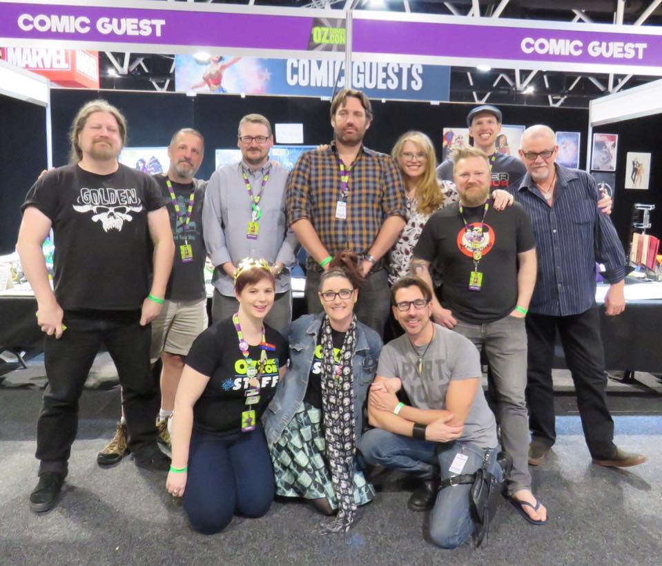 Comic Guests Brisbane OCC 2017
