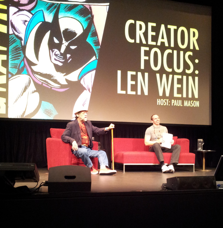 Len Wein panel