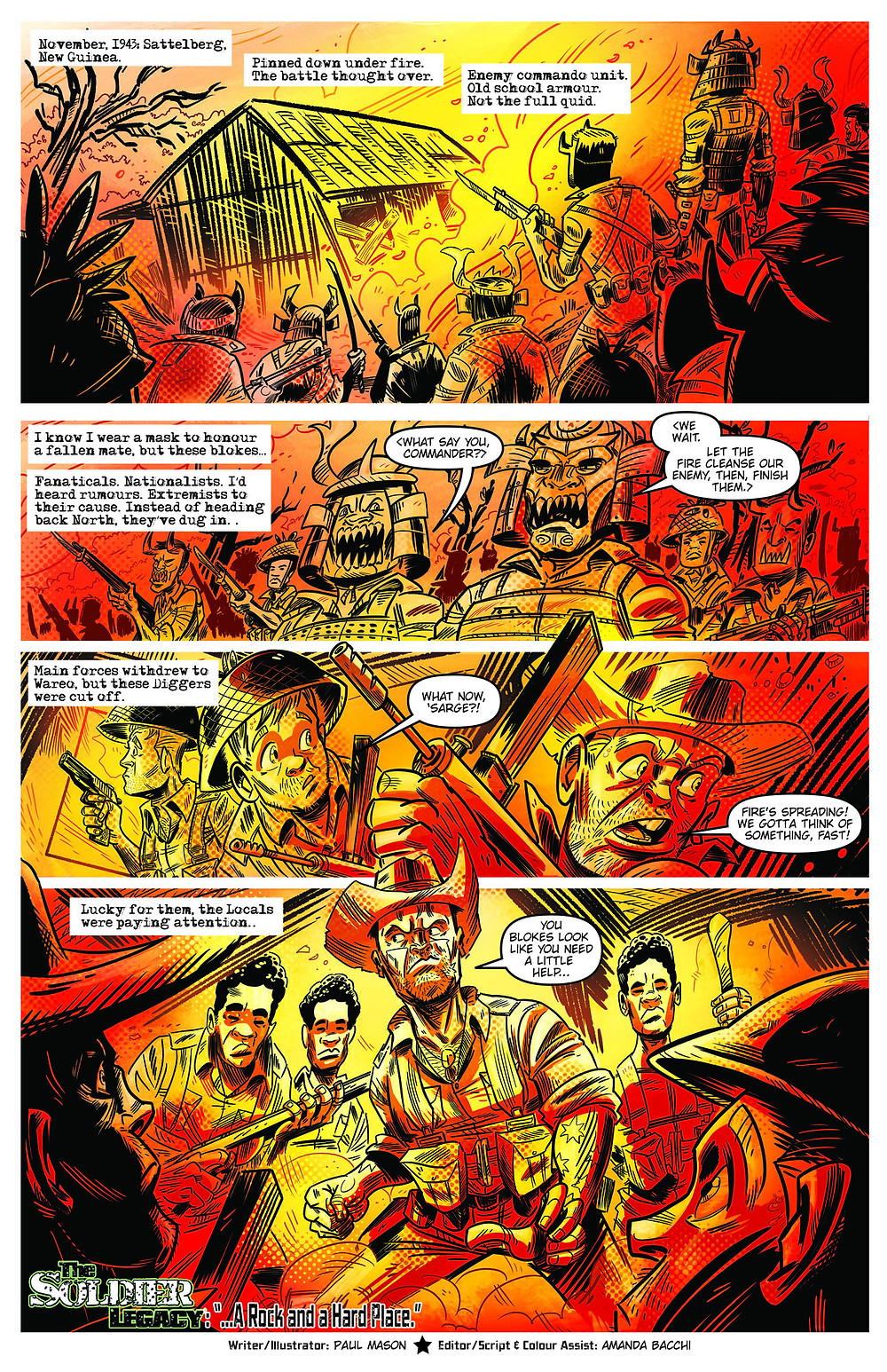 Page 1 SuperAustralians: Soldier Legacy chapter by Paul Mason and Amanda Bacchi