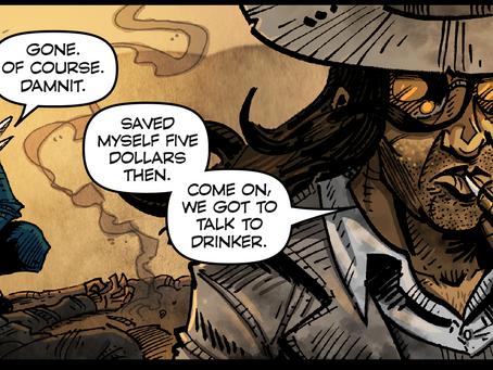 Eldritch Kid: Bone War #3 news, and Kid Phantom overseas