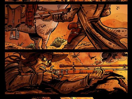 Eldritch Kid: Bone War Kickstarter is LIVE!