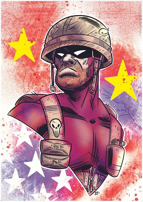Phantom: Vietnam #2 (unpublished) A1 poster