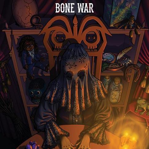 Bone War #3 Cover