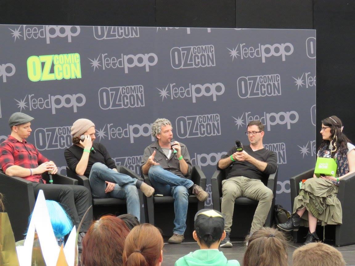 Comics and Film panel OCC