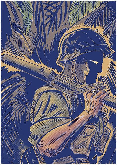 Phantom: Vietnam #1 A1 poster