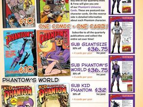 Kid Phantom Subscriptions now available!