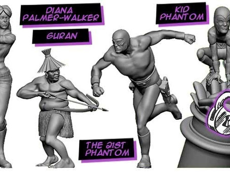 The Phantom: Treasures of Drakon Board Game Kickstarter LIVE! Ft. Kid Phantom!