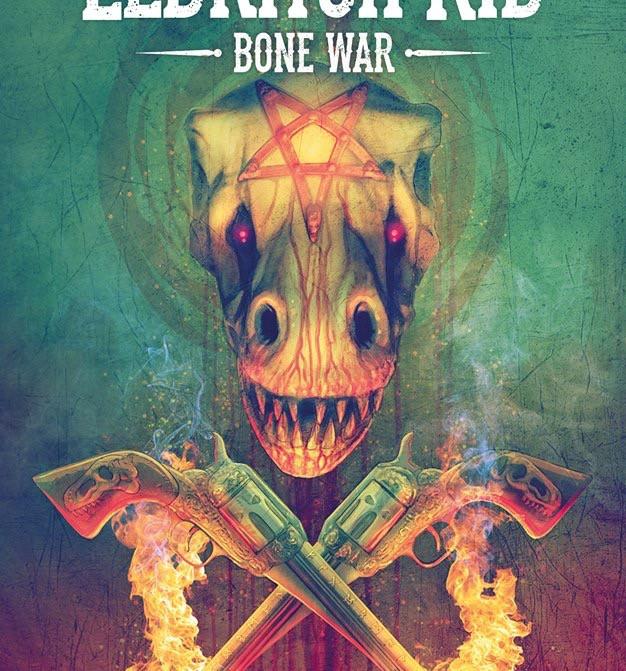 Eldritch Kid: Bone War TPB Cover