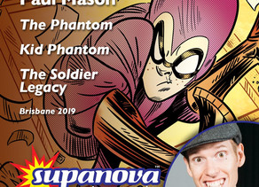 Paul to Guest at Supanova Expo: Brisbane 2019