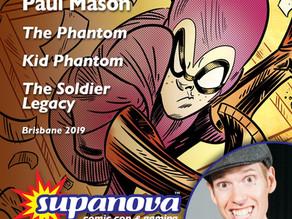 Paul to Guest at Supanova Expo: Brisbane 2019
