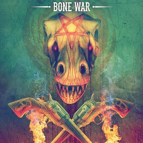 Bone War hardback cover