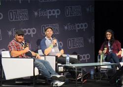 Action comics panel