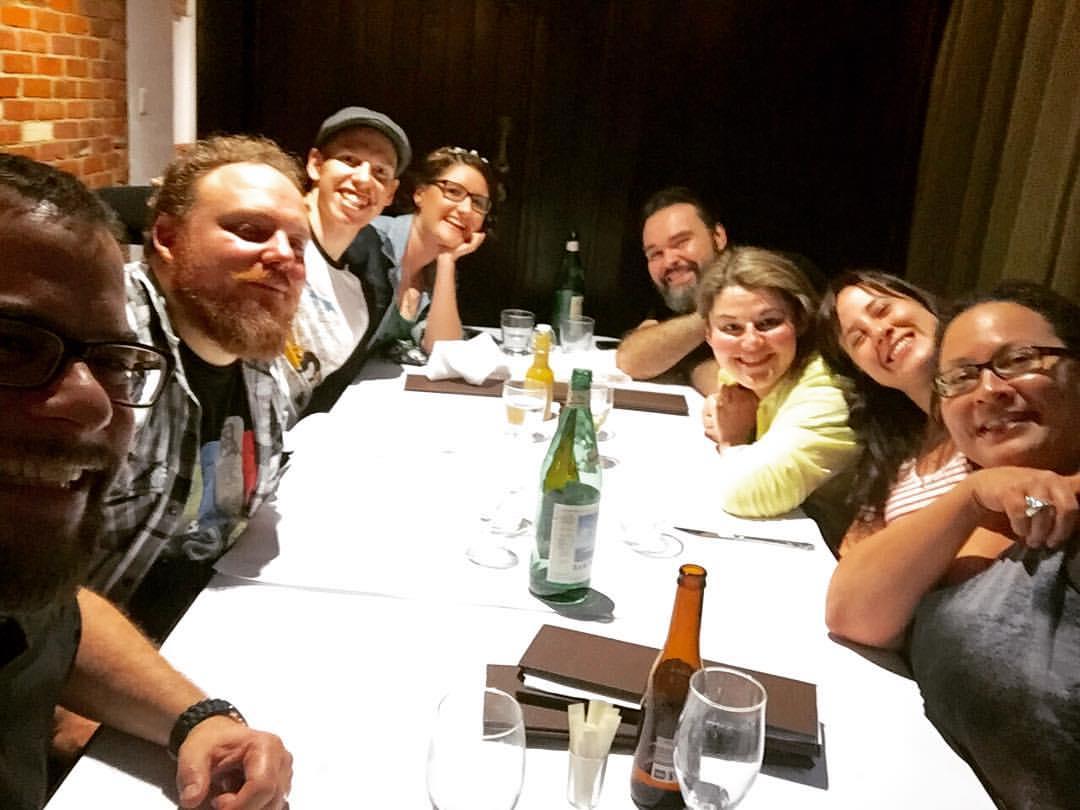 Dinner in Adelaide 2017
