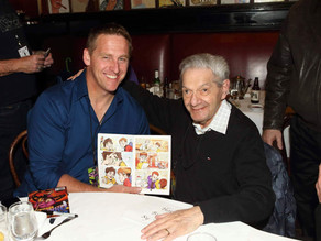 Kid Phantom with legendary Phantom cartoonist Sy Barry!
