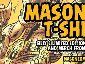 Mason Comics T-Shirts Wave 2!