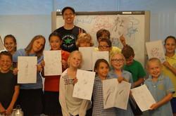 Perth Kid's comics class