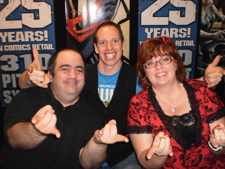 Dan Slott and Gail Simone