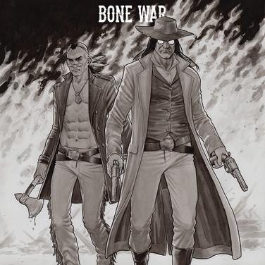 Bone War #1 Cover
