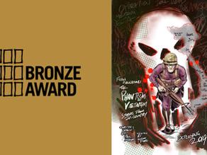 Bronze Ledger Award for Paul's 'The Phantom: It Tolls for Thee'