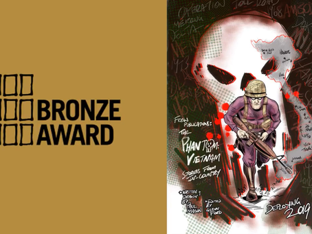Bronze Ledger Award for Paul's 'The Phantom: It Tolls for Thee'