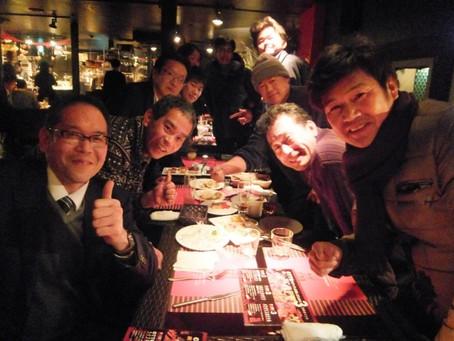 名古屋新年会&新人歓迎会(第5回 大﨑会)