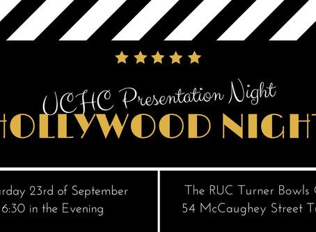 UCHC Presentation Night 2017