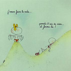 Henriette de Bordeaux sous le soleil, par SophieB (Sophie Bolloré) BORDEAUX. Dessins humoristiques