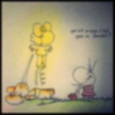 autre monde par SophieB, dessins humorstiques, BORDEAUX.