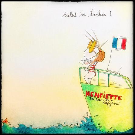 les Tuches et Henriette de Bordeaux, y SophieB. Dessins humoristiques