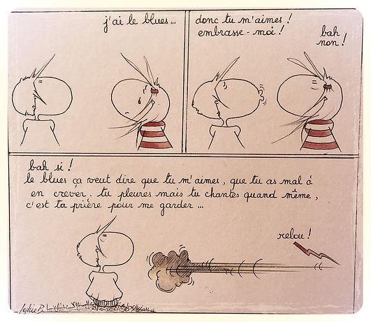 Johnny Hallyday, hommage par SophieB. Bordeaux.