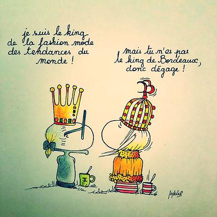 Karlito et Henriette de Bordeaux: who's the king ?