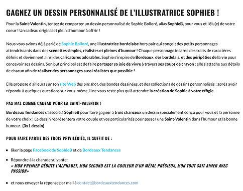 Sophie Bolloré, les dessins de SophieB. Henriette de Bordeaux