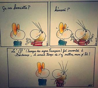 LSF Bordeaux by SophieB (Sophie Bolloré), dessins humoristiques