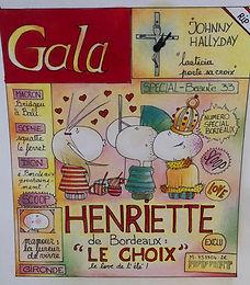Henriette de Bordeaux by SophieB (Sophie Bolloré), les dessins de SophieB. Bordeaux. France