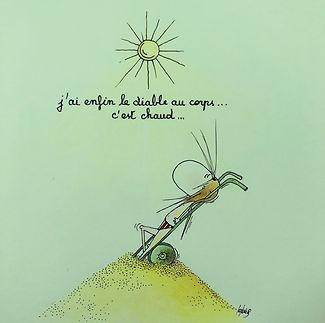 Henriette au Cap-Ferret par SophieB (Sophie Bolloré) BORDEAUX. Dessins humoristiques