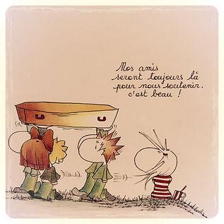Henriette de Bordeaux, dessins de presse, humoristiques