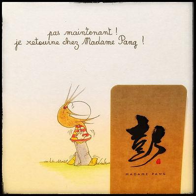 MADAME PANG et Henriette de Bordeaux by SophieB. Bordeaux. illustrations humoristiques.