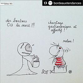 Sophie Bolloré, instagram Bordeaux Tendances, un dessin de SophieB