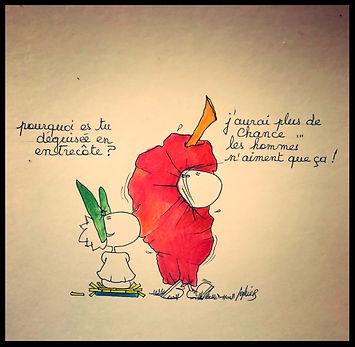 L'entrecôte Bordelaise selon SophieB. Bordeaux, dessins humoristiques !