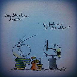 Karl Lagerfeld selon SophieB, Bordeaux. Illustation, dessins de presse.