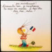 Coupe du monde 2018, by SophieB. Henriette deBordeaux.