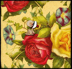 Henriette de Bordeaux, dans les fleurs.