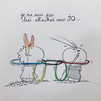 Les Jeux Olympiques 2018 par SophieB. Bordeaux.