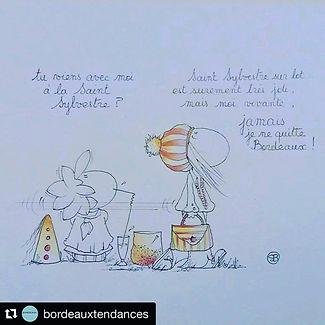 Sophie Bolloré, les dessins de SophieB, Bordeaux Tendances