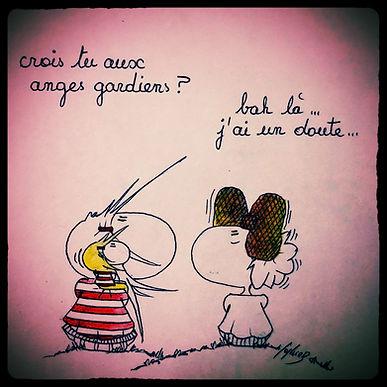 Les dessins de SophieB, Henriette de Bordeaux. Humour !