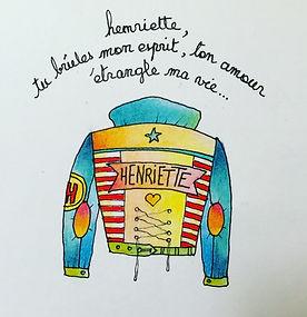 Henriette, tu brûles mon esprit, ton amour étrangle ma vie ! Johnny Hallyday, hommage. Bordeaux.