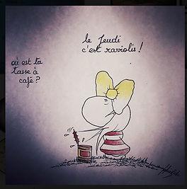 """Le """"jeudi"""" par SophieB, Bordeaux"""