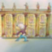 Le grand théâtre de Bordeaux. Les dessins de SophieB, Sophie Bolloré, BORDEAUX. Dessins humoristiques.