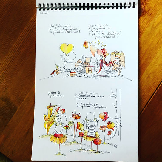 Bordeaux, SophieB dessins