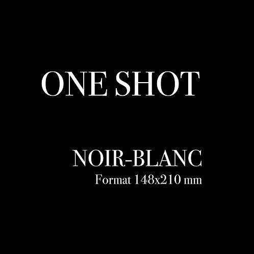 ONE SHOT |  148x210mm | noir-blanc